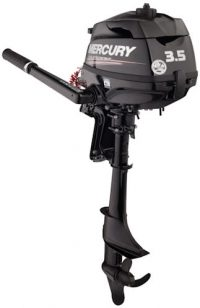 New 3.5hp Mercury Outboard