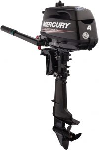 New 4hp Mercury Outboard