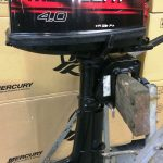 Used 4hp Mercury outboard 2 stroke