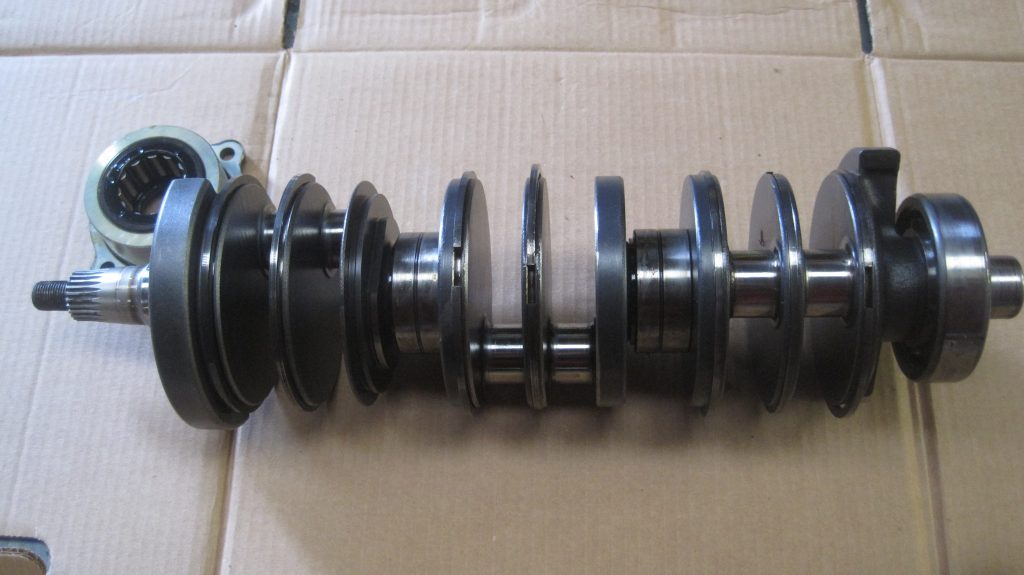 Second hand Mercury outboard crankshaft